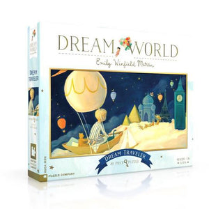 New York Puzzle Company | Dream Traveler - Dream World 80 Piece Puzzle