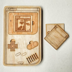 Giant Wooden Game Machine and Block Puzzle