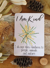 Load image into Gallery viewer, Australiana Positive Affirmation Cards for Kids