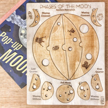 Load image into Gallery viewer, Phases of the Moon Puzzle, Southern Hemisphere