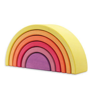 Ocamora Rainbow - 6 Pieces, Yellow
