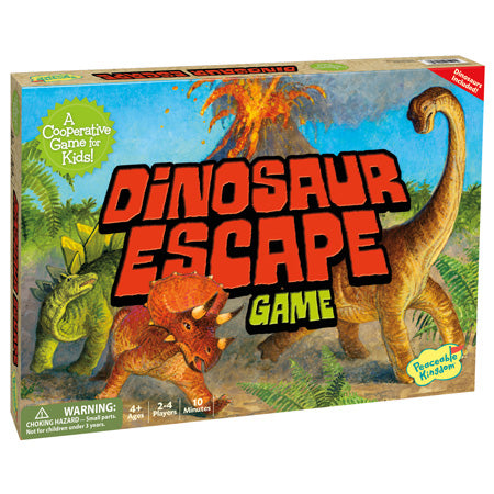 Dinosaur Escape Peaceable Kingdom Boardgame | Little Leaf Toy Shop Australia