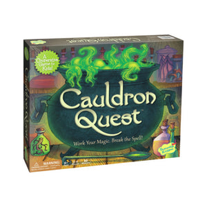 Cauldron Quest Peaceable Kingdom Boardgame | Little Leaf Toy Shop Australia
