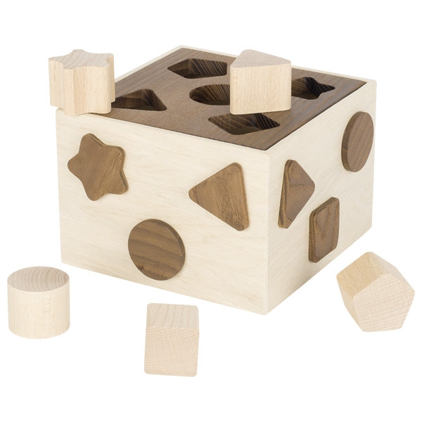Shape sorting box - Goki Nature