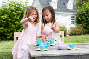 Green Toys Tea Set - 15 Pieces