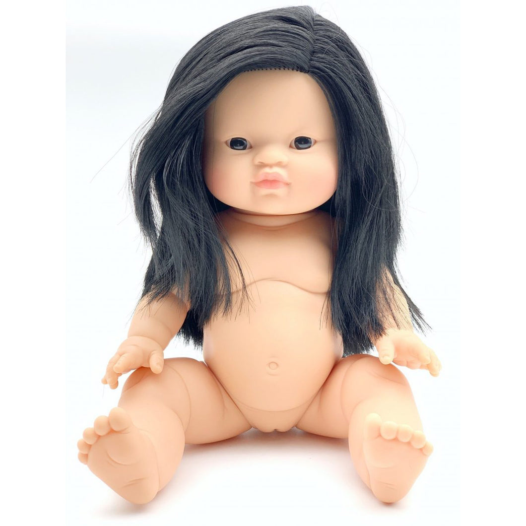 Holland - Paola Reina Gordis Asian Girl Doll With Long Hair