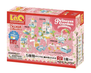 Princess Garden, Sweet Collection - 5 Models, 175 Pieces