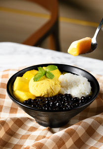 T6. Your Mango Sticky Rice with Black Pearls