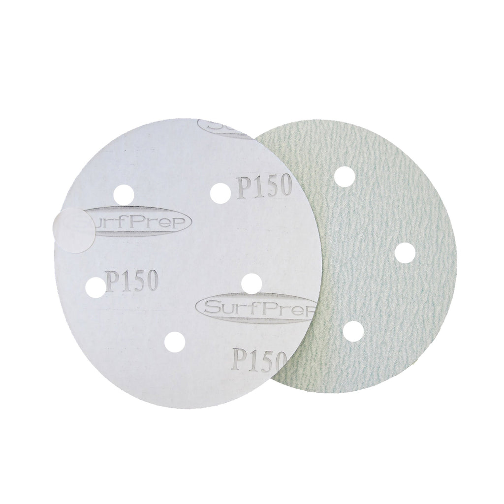 5 Surfprep Film Discs (Psa) Hole For Vacuum / 60 Sanders