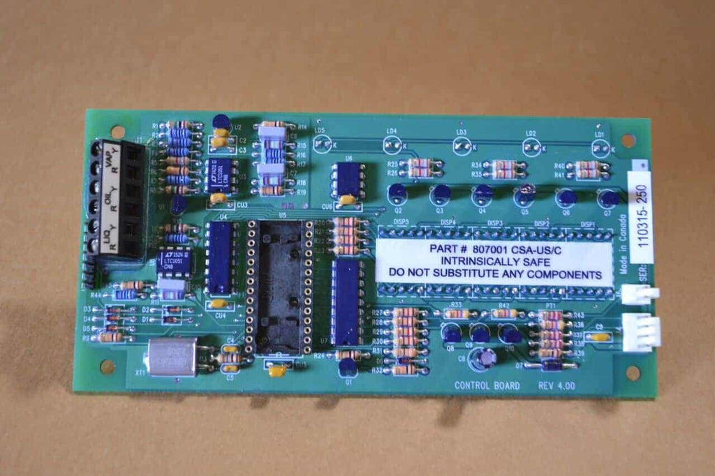 Electronic Control Board For - 3 & 6 Gal Recycler (Sc Hc 9711 9725 1100 25000 Models) Solvent Parts
