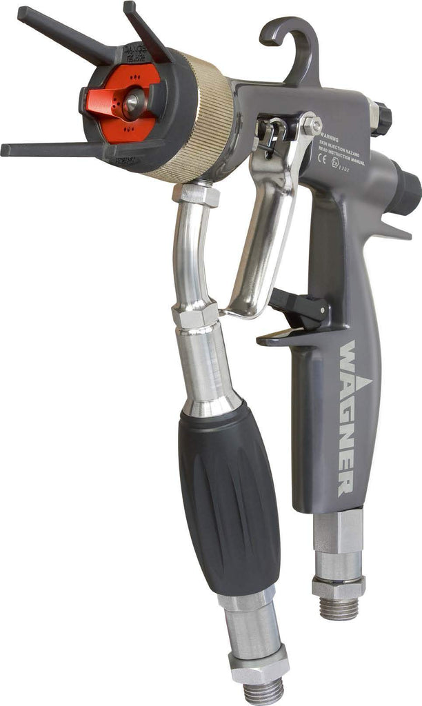 Special Offer - Wagner Gm 4700Ac Aircoat Handheld Aaa Spray Gun W/ Red Air Cap (No Tip)