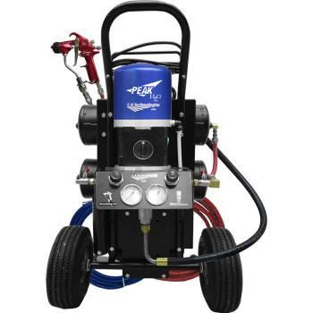 C.a. Technologies Waterbourne Air-Assist-Airless (Aaa) 14:1 Bobcat Peak Pump Cart With Compressor W/