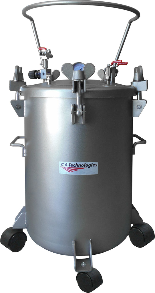 12.5 Gallon Pressure Tank Stainless Steel / Single None Pot