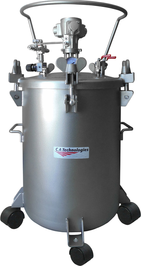 12.5 Gallon Pressure Tank Stainless Steel / Single Air Pot