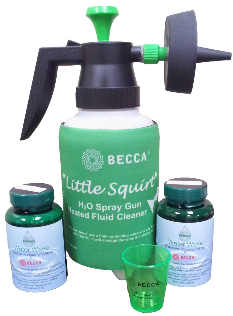 Little Squirt - Single Waterborne Spray Gun Cleaner