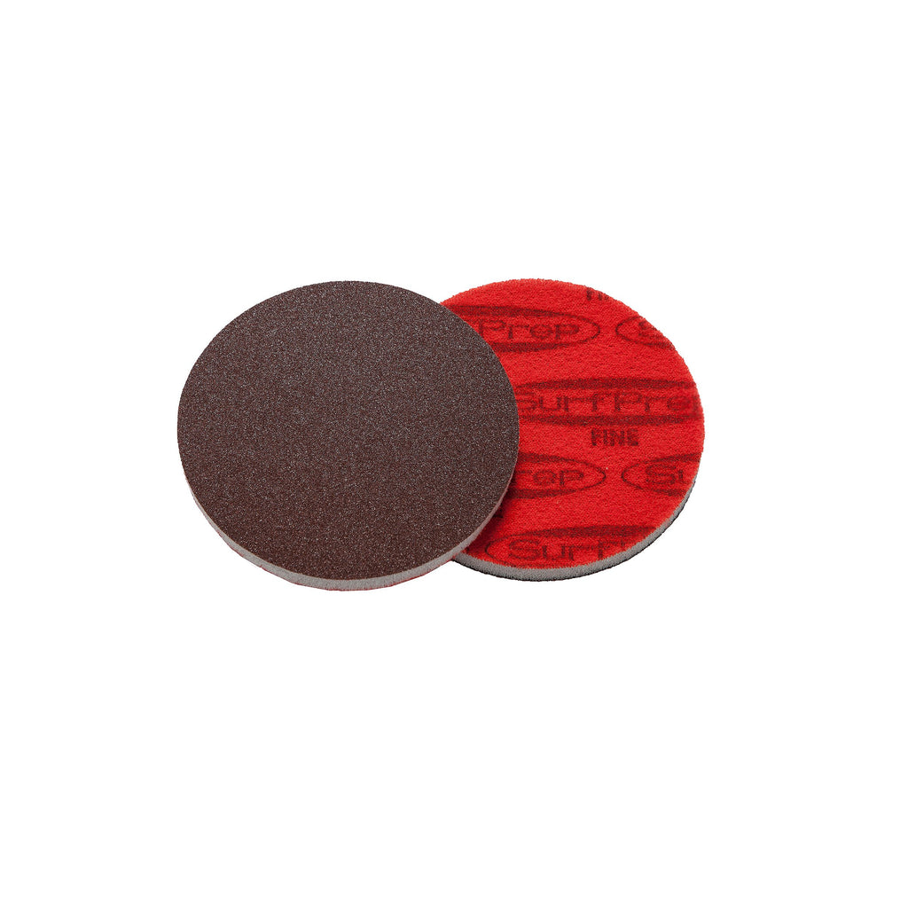 3 Surfprep Foam Discs - 5Mm Thick (Premium Red A/o) Sanders