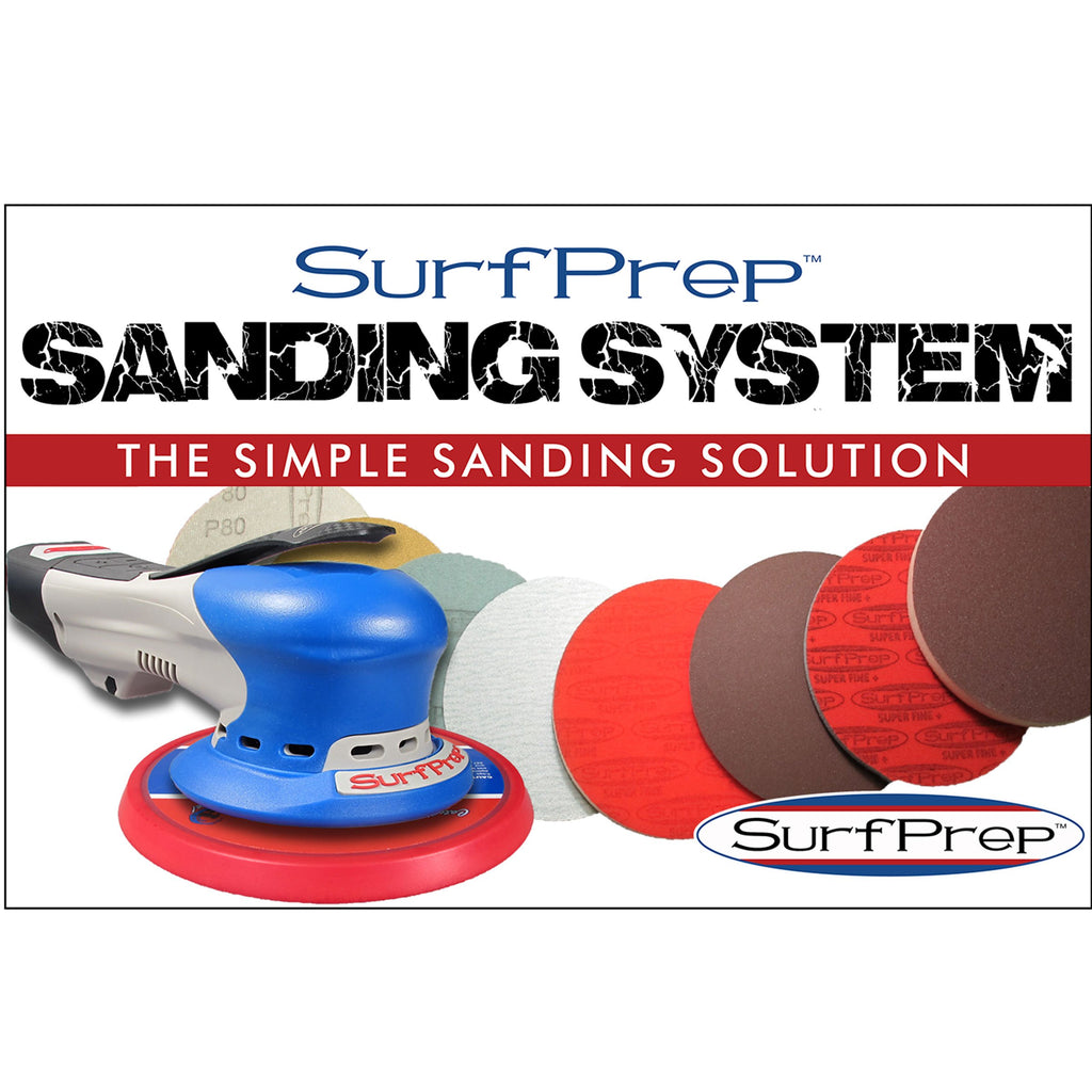 Surfprep 6 Electric Ray Sanding System Kits Sanders
