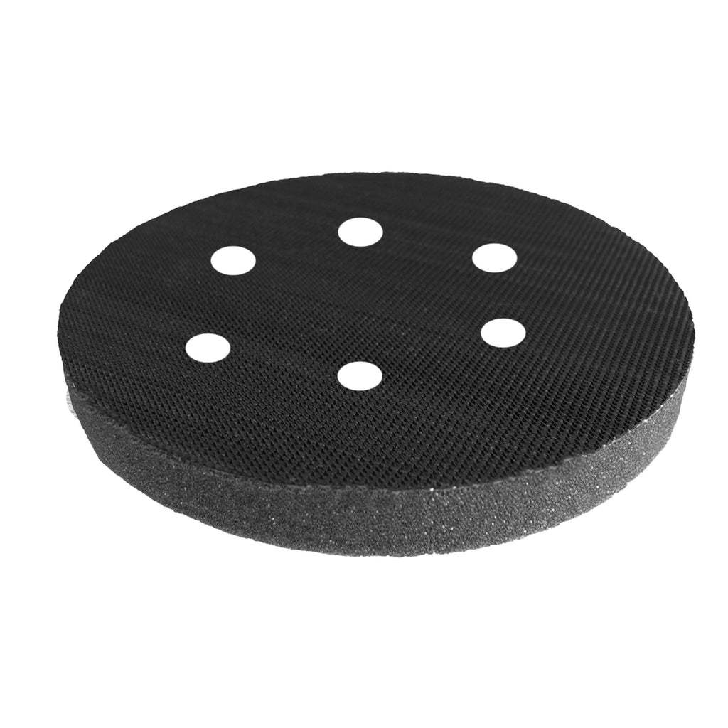 Surfprep Interface Pads 6 / Soft (Grey) Holes For Vacuum Sanders