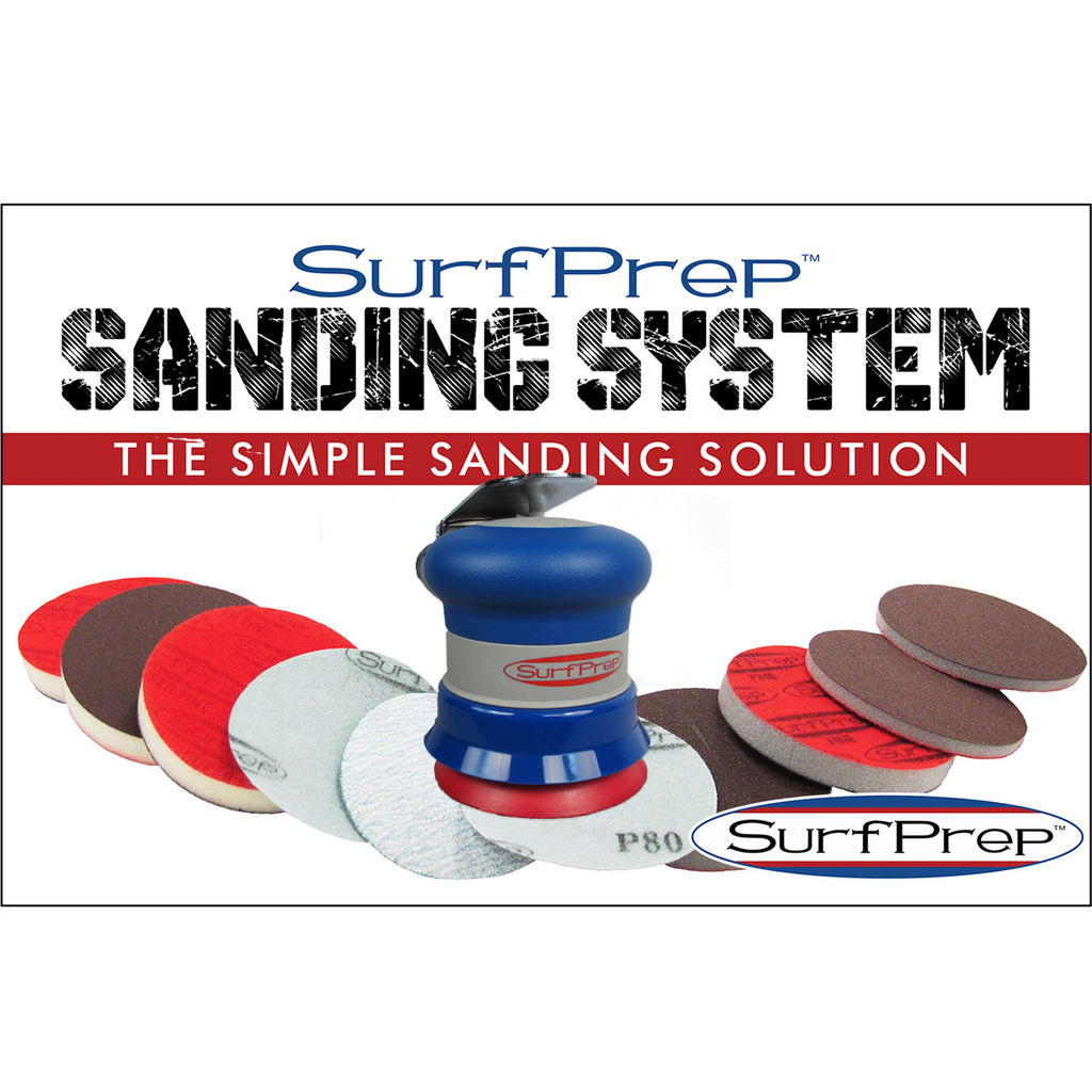 Surfprep 3 Storm Air Sanding System Kit Sanders