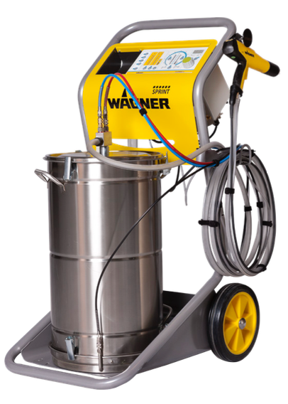 Wagner Sprint Airfluid Xe - Hopper Feed (Does Not Include Hopper) Powder Coating