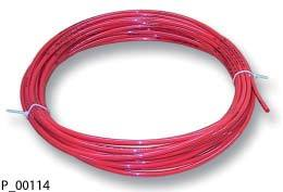 Tube Red D8 Powder Coating