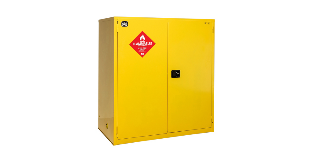120 Gallon Flammable Storage Cabinet With Manual-Closing Doors 59.312 W X 34.438 D 65.125 H Cabinets