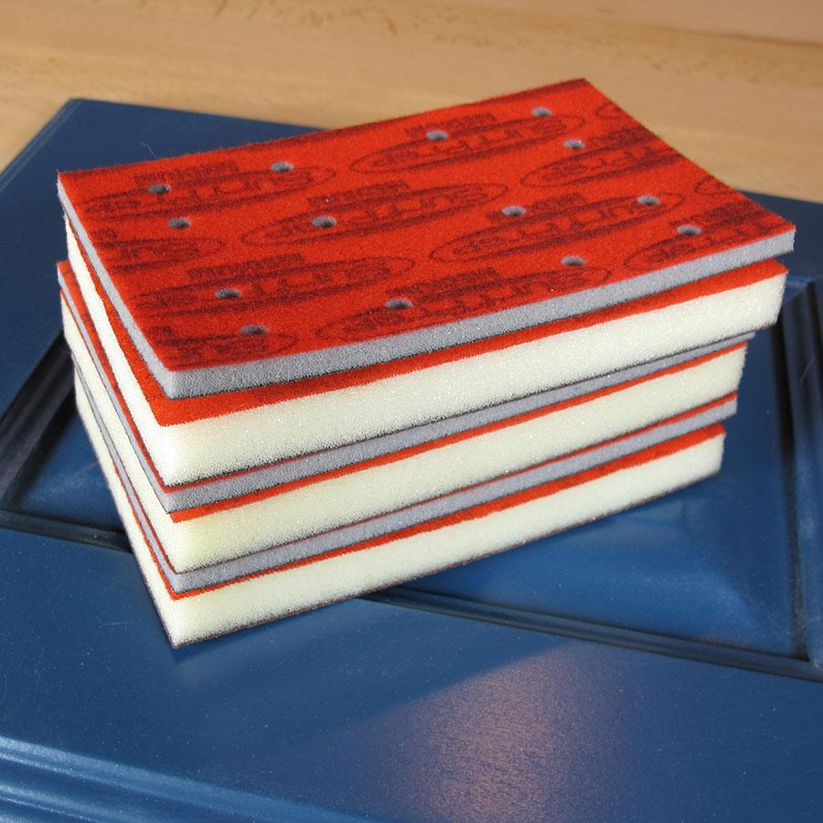 Rectangle Sander Foam Pads Sanders