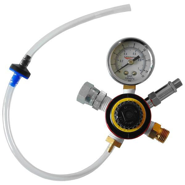 C.a. Technologies By-Pass Regulator & Gauge For Pressure Cups (0-15 Psi) 52-5R2 Air