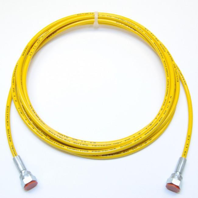 1/8 Airless Hose Yellow (5000 Psi) 1/4 Females / 15