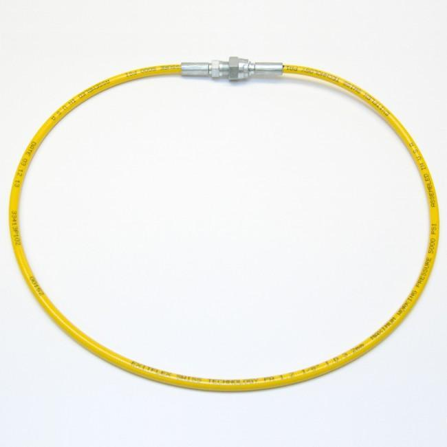 1/8 Airless Hose Yellow (5000 Psi) 1/4 Female X Male / 3