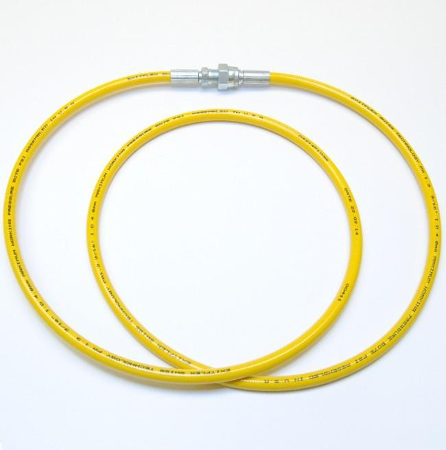 3/16 Airless Hose - Yellow (5075 Psi) 1/4 Female X Male / 5