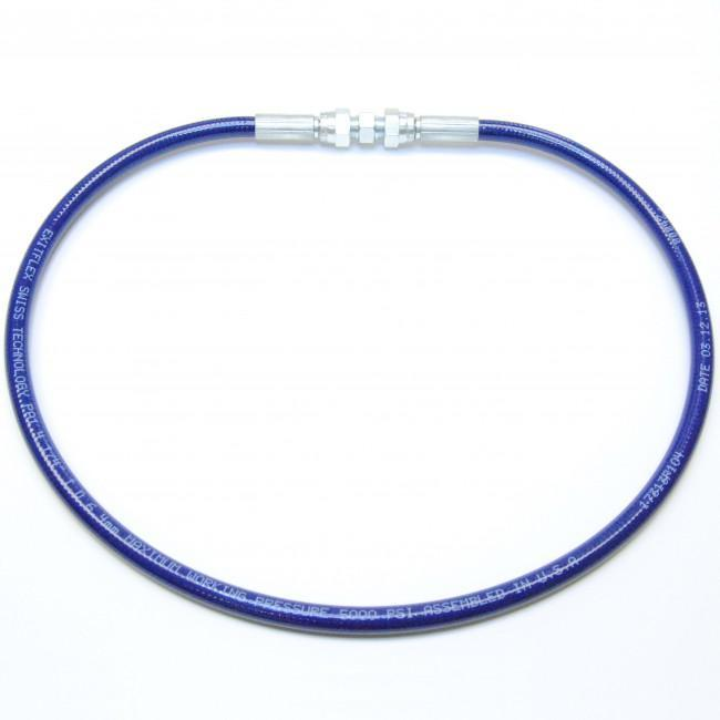 1/4 Airless Hose Blue (5000 Psi) - Fittings: Females 3