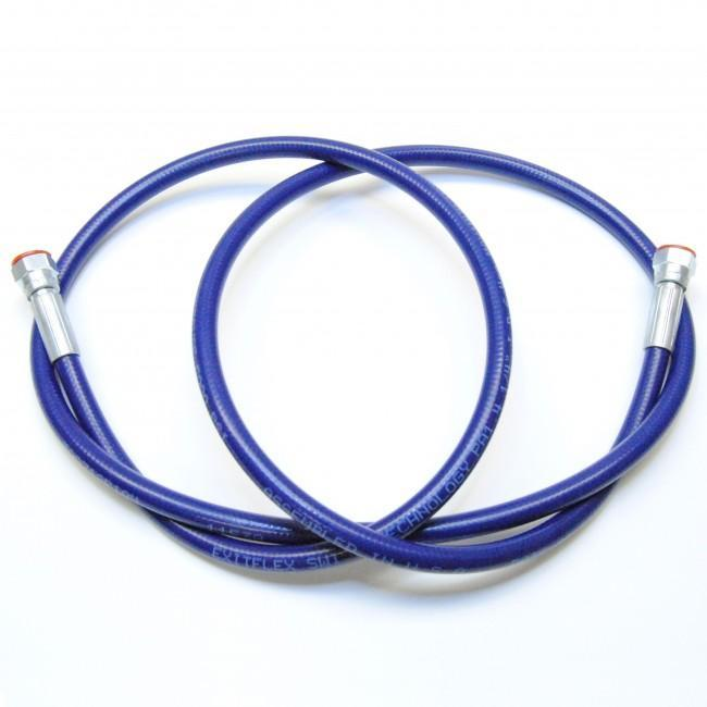 1/4 Airless Hose Blue (5000 Psi) - Fittings: Females 6