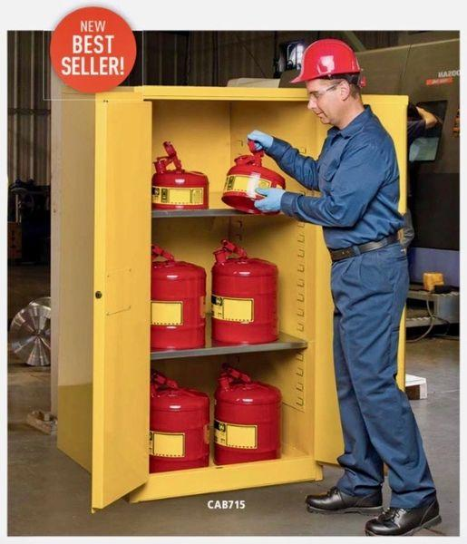 90 Gallon Flammable Storage Cabinet 43.312 Width X 34.438 Depth 65.125 Height Cabinets