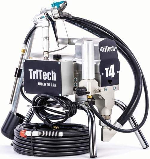 T4 Airless Sprayer Stand 110V Complete Pump