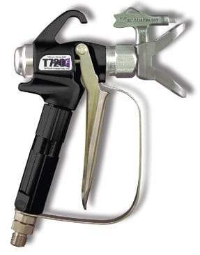 T720 Airless Spray Gun 4-Finger With T93R Tip And Guard 7/8