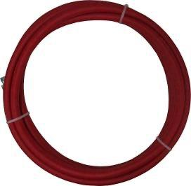 3/8 Air Hose - Red (200 Psi) Fittings: 1/4 Nps 5