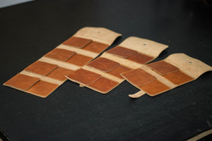 Leather Watch Roll (Individual Pockets)