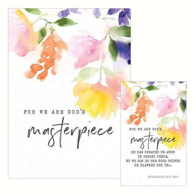 God's Masterpiece Birthday (Prayer Life Share It) Greeting | Fruit of the Vine Boutique