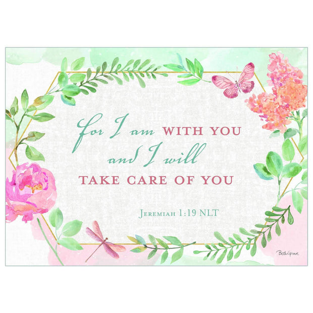 God's Love Get Well Inspirational Card | Fruit of the Vine Boutique