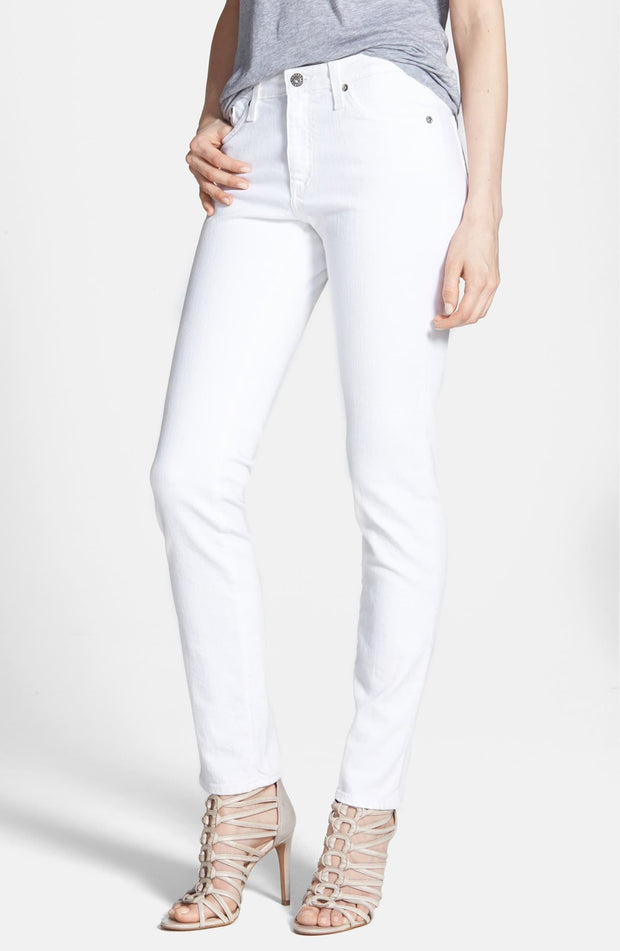 AG Jeans - The Prima in White - Fruit of the Vine