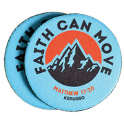 Faith Can Move Mountains Car Coasters - Fruit of the Vine