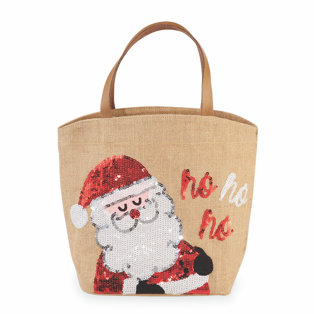 Christmas Dazzle Totes | Mud Pie