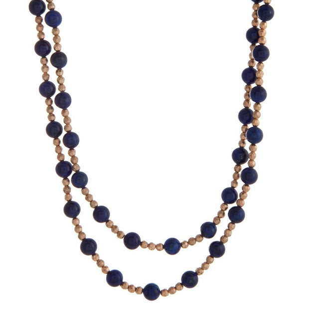 Bella Beaded Wrap Necklace - Fruit of the Vine