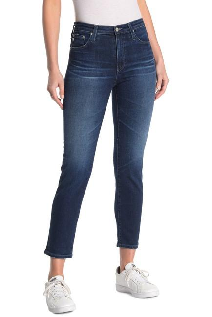 AG Jeans - The Isabelle High-Rise Straight Crop - Fruit of the Vine