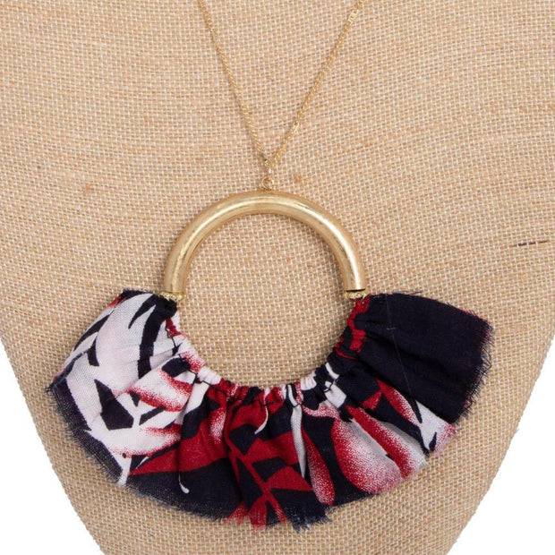 Fanned Necklace