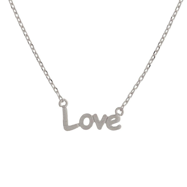 Love Little Charm Silver Necklace - Fruit of the Vine