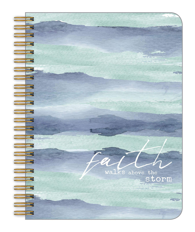 Faith Walks Above the Storm Medium Notebook | Fruit of the Vine Boutique