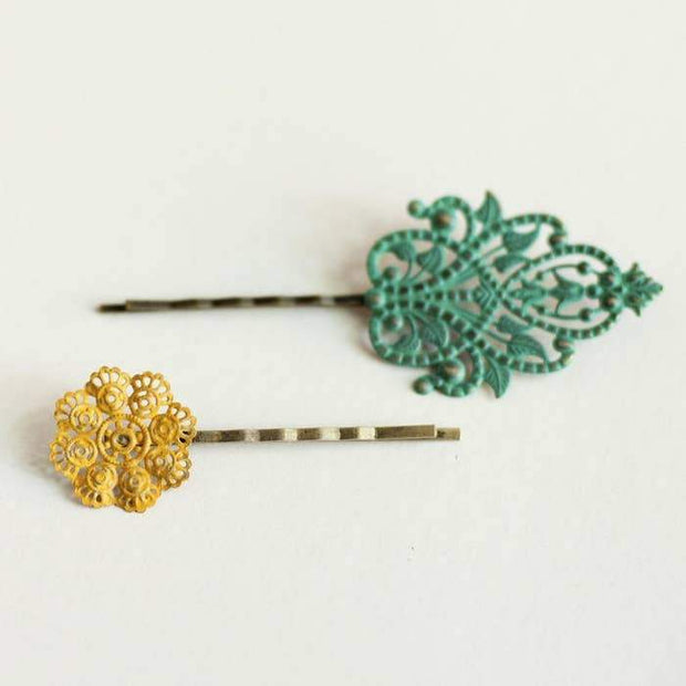 Opposites Attract Bobby Pins - Fruit of the Vine