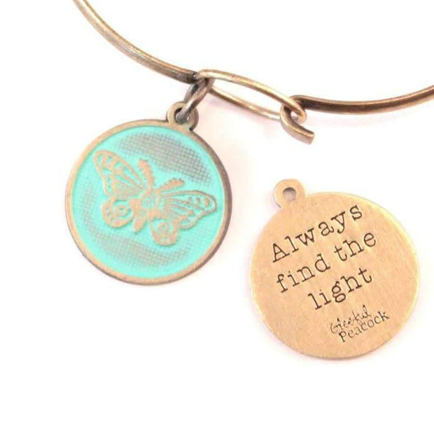 Find the Light Token Charm Bracelet